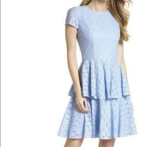Gal Meets Glam | Lace Tiered Mini Dress